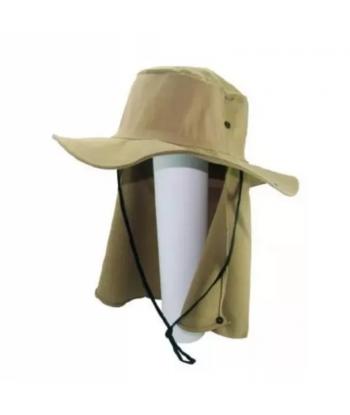 Chapéu Protetor Caqui