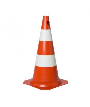 Cone 50cm Laranja/Branco