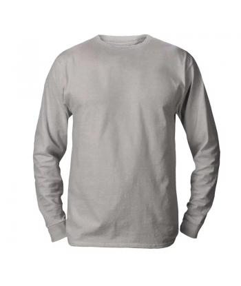 Camiseta Pv Cinza m/longa